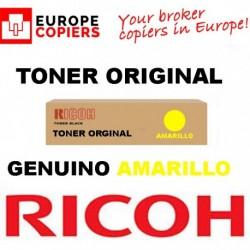 TONER ORIGINAL RICOH AFICIO MPC3300 AMARILLO