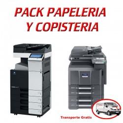 Pack papelería y copistería